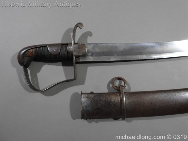 michaeldlong.com 833 600x450 British 1796 Light Cavalry Sword By Dawes Birmingham
