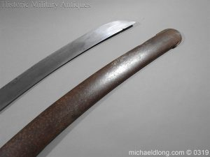 michaeldlong.com 839 300x225 British 1796 Light Cavalry Sword By Dawes Birmingham