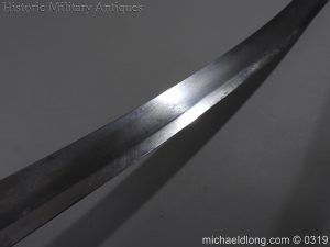 michaeldlong.com 844 300x225 British 1796 Light Cavalry Sword By Dawes Birmingham