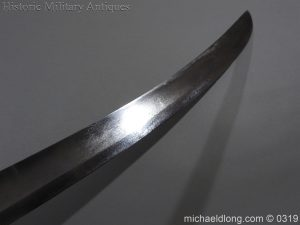 michaeldlong.com 845 300x225 British 1796 Light Cavalry Sword By Dawes Birmingham