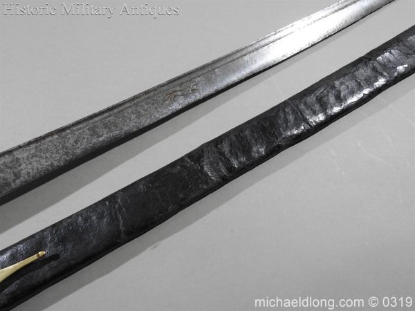 michaeldlong.com 944 600x450 British Naval Slot Hilt Officer's Sword C 1780