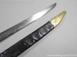 michaeldlong.com 945 300x225 British Naval Slot Hilt Officer's Sword C 1780