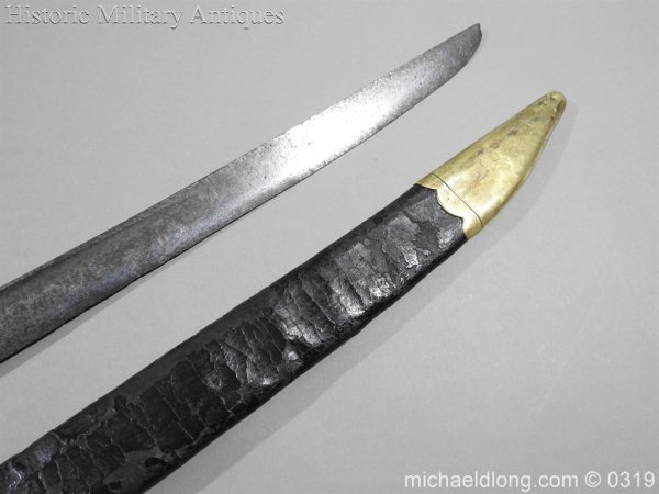 michaeldlong.com 945 600x450 British Naval Slot Hilt Officer's Sword C 1780
