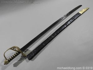 michaeldlong.com 946 300x225 British Naval Slot Hilt Officer's Sword C 1780