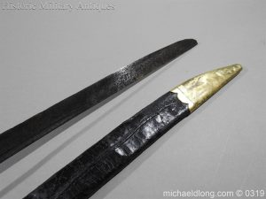 michaeldlong.com 949 300x225 British Naval Slot Hilt Officer's Sword C 1780