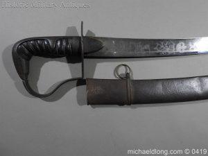 michaeldlong.com 1047 300x225 Georgian 1796 Officer's Cavalry Sword