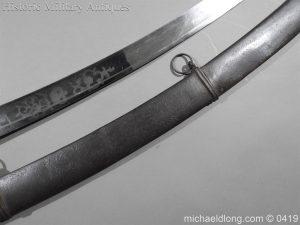michaeldlong.com 1048 300x225 Georgian 1796 Officer's Cavalry Sword