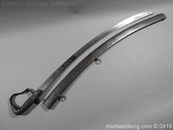 michaeldlong.com 1050 600x450 Georgian 1796 Officer's Cavalry Sword