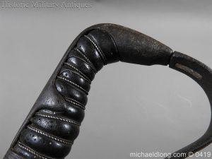 michaeldlong.com 1069 300x225 Georgian 1796 Officer's Cavalry Sword