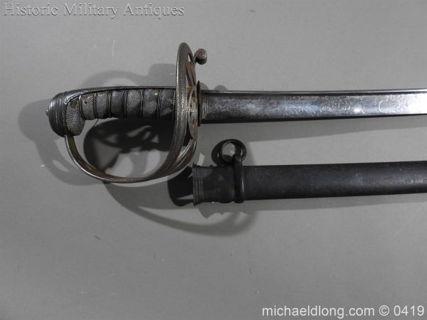 michaeldlong.com 1119 600x450 Irish Rifle Brigade Officer's Sword