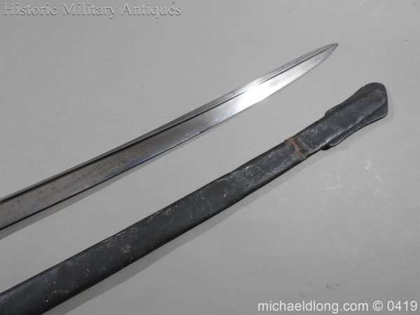michaeldlong.com 1121 600x450 Irish Rifle Brigade Officer's Sword