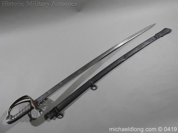 michaeldlong.com 1122 600x450 Irish Rifle Brigade Officer's Sword
