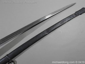 michaeldlong.com 1124 300x225 Irish Rifle Brigade Officer's Sword