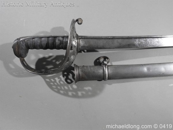 michaeldlong.com 1149 600x450 British 1821 WR 4th Heavy Cavalry Sword