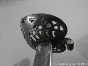michaeldlong.com 1163 300x225 British 1821 WR 4th Heavy Cavalry Sword