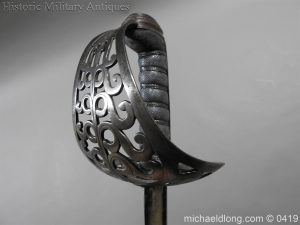 michaeldlong.com 1167 300x225 British 1821 WR 4th Heavy Cavalry Sword