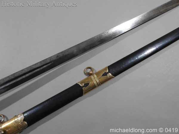 michaeldlong.com 1218 600x450 British 1845 Officer's Sword by Wilkinson with Gill Blade