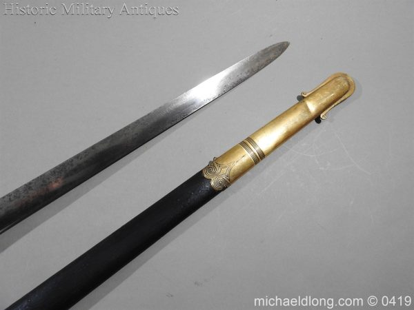 michaeldlong.com 1219 600x450 British 1845 Officer's Sword by Wilkinson with Gill Blade