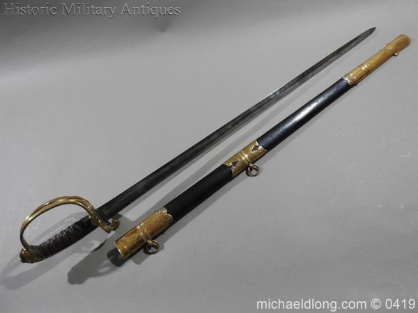michaeldlong.com 1220 600x450 British 1845 Officer's Sword by Wilkinson with Gill Blade