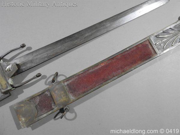 michaeldlong.com 1263 600x450 French 1794 E'cole de Mars Glaive 96