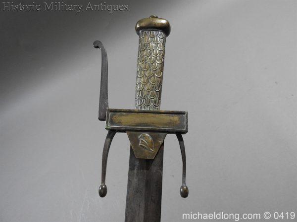 michaeldlong.com 1274 600x450 French 1794 E'cole de Mars Glaive 96