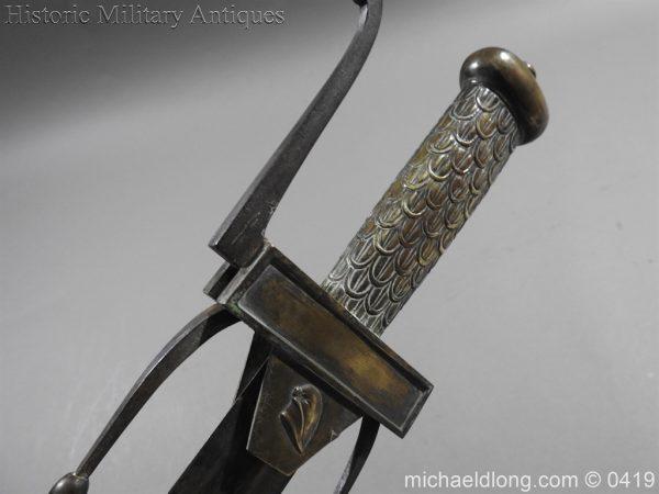 michaeldlong.com 1276 600x450 French 1794 E'cole de Mars Glaive 96