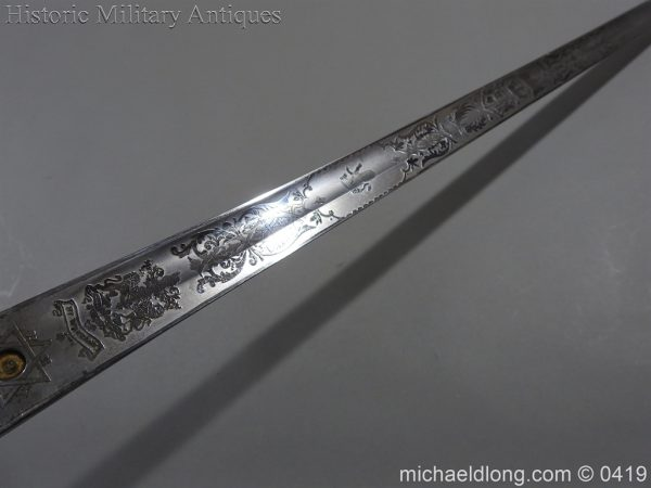 michaeldlong.com 1310 600x450 Wilkinson 10th Hussar's Officer's Sword
