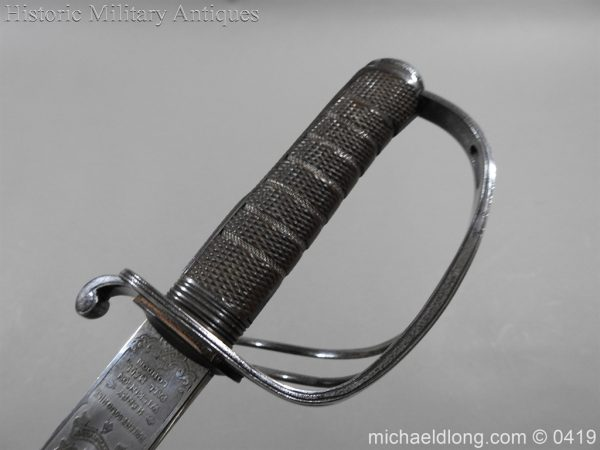 michaeldlong.com 1320 600x450 Wilkinson 10th Hussar's Officer's Sword