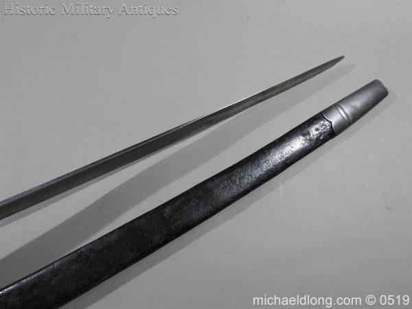michaeldlong.com 1327 600x450 British 1859 Pattern Cutlass Bayonet B72