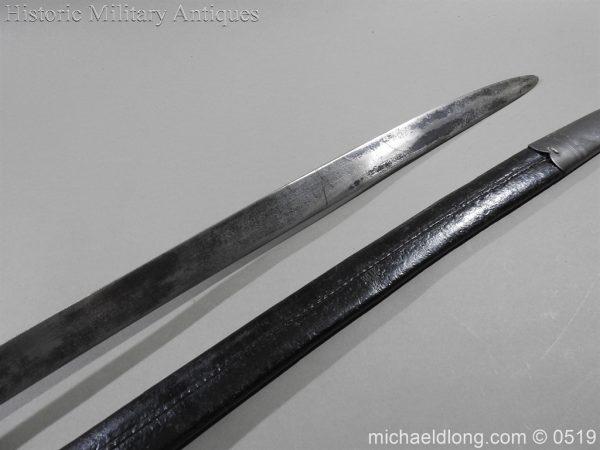 michaeldlong.com 1330 600x450 British 1859 Pattern Cutlass Bayonet B72