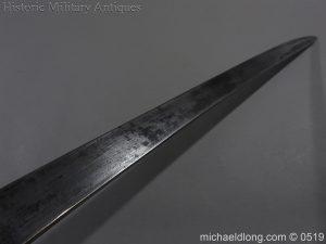michaeldlong.com 1336 300x225 British 1859 Pattern Cutlass Bayonet B72