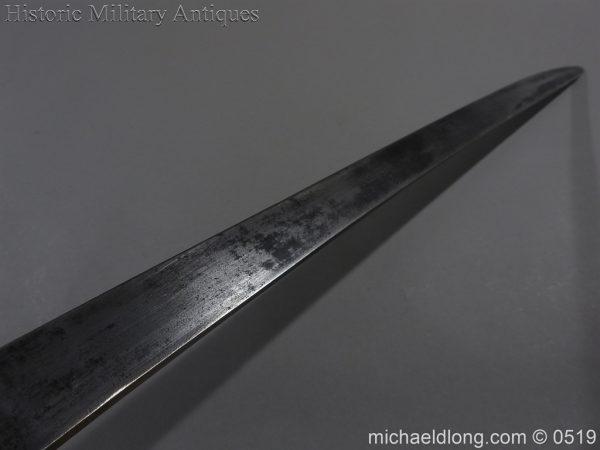 michaeldlong.com 1336 600x450 British 1859 Pattern Cutlass Bayonet B72