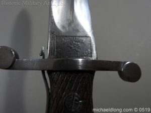 michaeldlong.com 1354 300x225 Spanish Model 1907 Artillery Bolo Bayonet B100