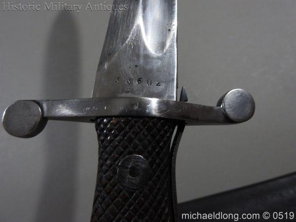 michaeldlong.com 1356 600x450 Spanish Model 1907 Artillery Bolo Bayonet B100
