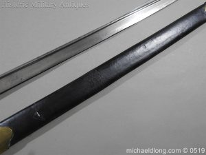 michaeldlong.com 1361 300x225 British 1855 Sapper and Miners Lancaster Sword Bayonet B102