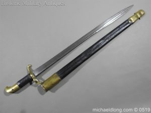 michaeldlong.com 1363 300x225 British 1855 Sapper and Miners Lancaster Sword Bayonet B102