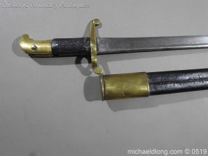 michaeldlong.com 1364 300x225 British 1855 Sapper and Miners Lancaster Sword Bayonet B102