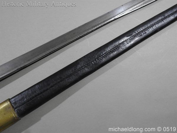 michaeldlong.com 1365 600x450 British 1855 Sapper and Miners Lancaster Sword Bayonet B102