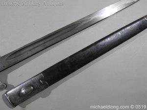 michaeldlong.com 1384 300x225 British 1887 Pattern Sword Bayonet B109