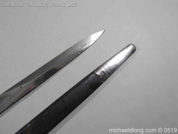 michaeldlong.com 1385 600x450 British 1887 Pattern Sword Bayonet B109