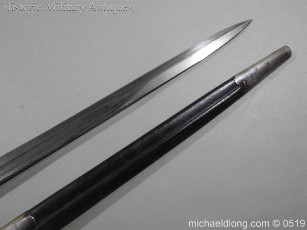 michaeldlong.com 1388 600x450 British 1887 Pattern Sword Bayonet B109