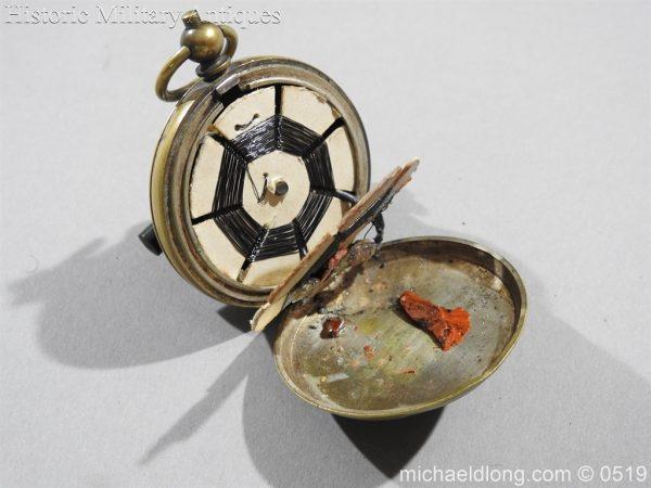 michaeldlong.com 1407 600x450 Clandestine or Secret Radio Pocket Watch WW1 WW2