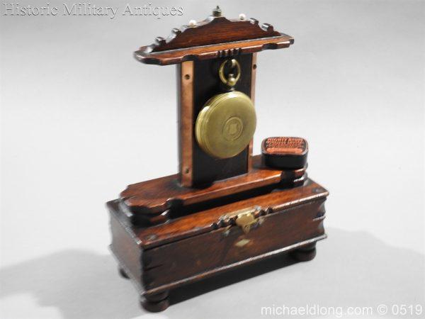 michaeldlong.com 1413 600x450 Clandestine or Secret Radio Pocket Watch WW1 WW2