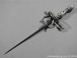 michaeldlong.com 1545 300x225 German Left Hand Dagger by Christian Leygebe c 1650