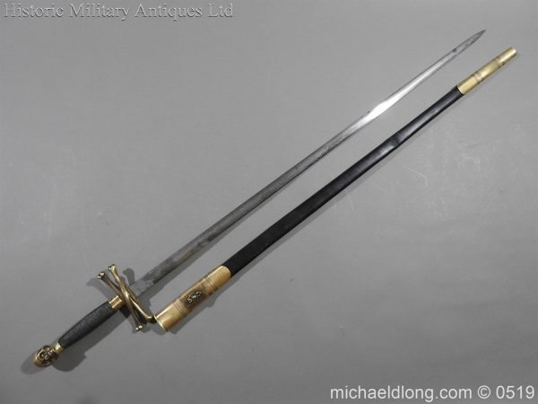 michaeldlong.com 1573 600x450 British 19th Century Masonic lodge Sword