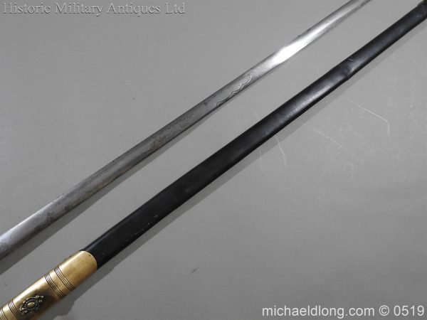 michaeldlong.com 1575 600x450 British 19th Century Masonic lodge Sword