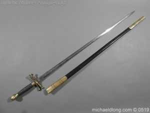 michaeldlong.com 1577 300x225 British 19th Century Masonic lodge Sword