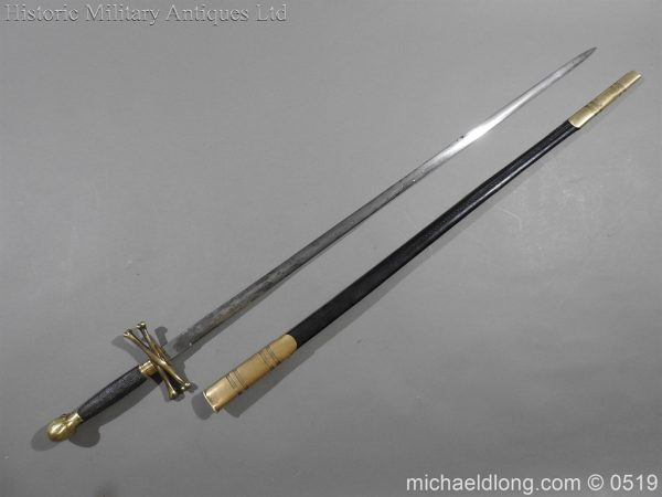 michaeldlong.com 1577 600x450 British 19th Century Masonic lodge Sword