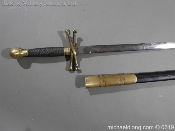 michaeldlong.com 1578 600x450 British 19th Century Masonic lodge Sword