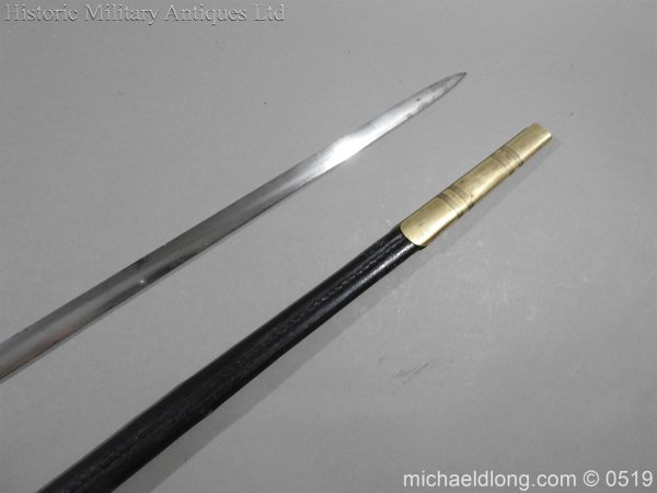 michaeldlong.com 1580 600x450 British 19th Century Masonic lodge Sword